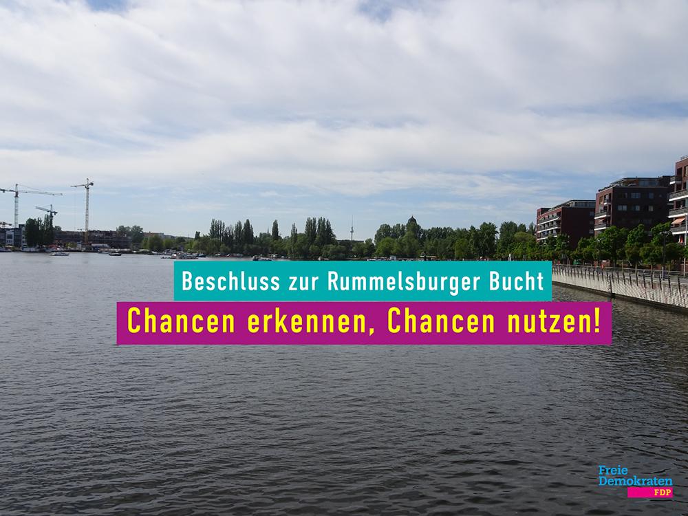 Beschluss zur Rummelsburger Bucht: Chancen erkennen, Chancen nutzen!